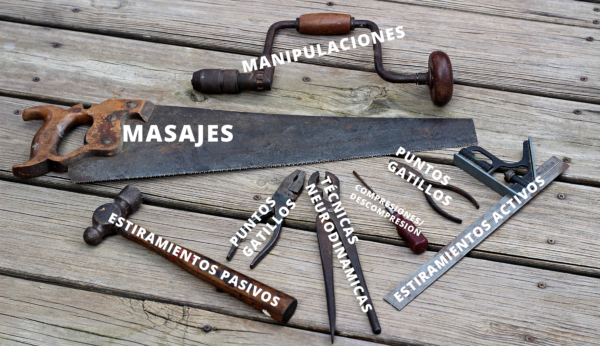 Las herramientas del terapeuta