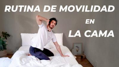 Rutina de movilidad en la cama