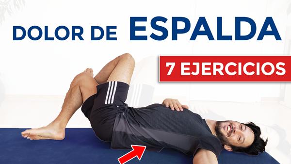 7 ejercicios para el dolor de espalda