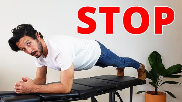 Stop con los abdominales para la espalda