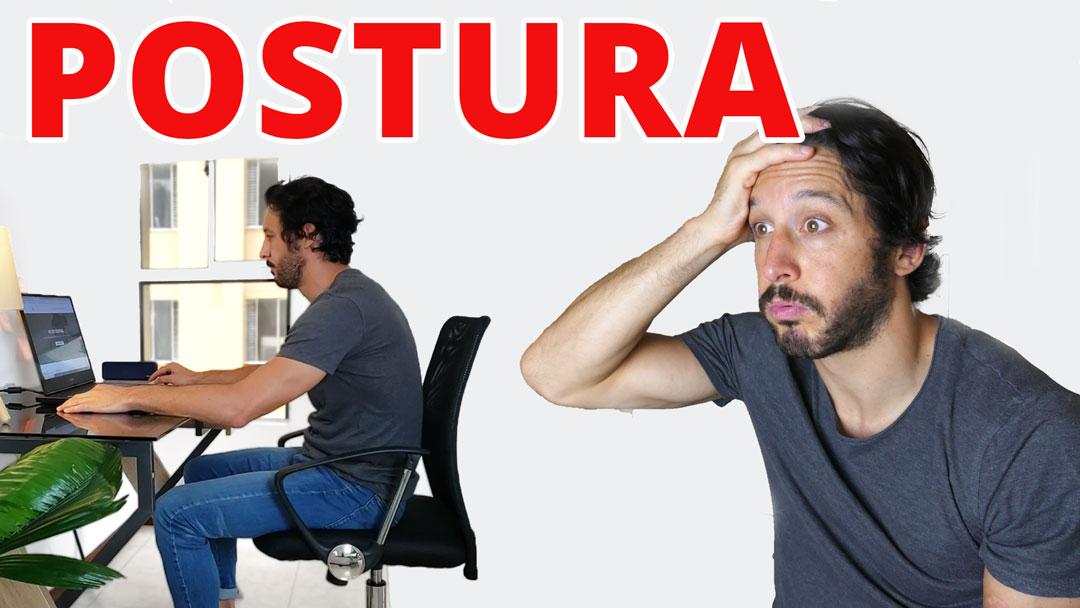 postura en la oficina