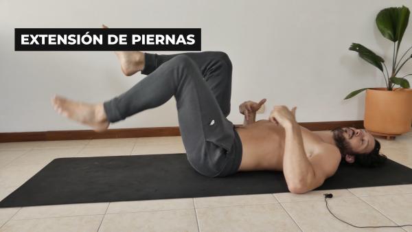 ejercicios sentados para el dolor de espalda baja